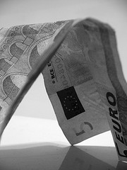 Geldschein Euro Währung