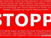 Stoppseite Internetpornografie BKA Sperre Zugangserschwerungsgesetz