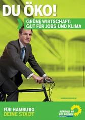 Plakat aus der GAL-Wahlkampagne 2011