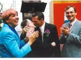 Erste Homoehen 2001 im Rathaus Altona