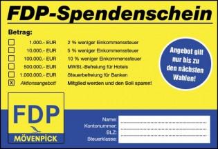 FDP_Spendenschein