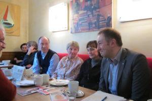 Bürgergespräche im Café May