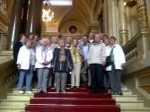 Senioren Ev-Luth. Kirchengemeinde zu Hamburg-Horn auf der Senatstreppe