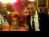 Cristina, Valery Pearl & Farid Müller