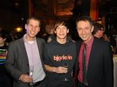 Foto Carsten, Pip und Farid beim Neujahrsempfang 2011