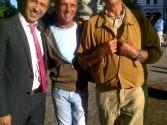 Mit Michael und Klaus-Peter