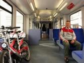 Mehrzweckabteil S-Bahn Stadtrad Fahrad Foto: Manfred Dube