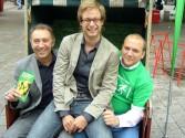 Farid Müller, Anjes Tjarks und Manuel Sarrazin