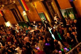 Großer Festsaal im Hamburger Rathaus beim Neujahrsempfang 2013