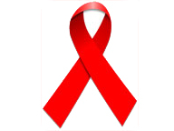AIDS Schleife Red Ribbon