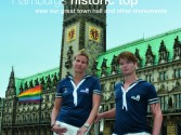 Team Hamburg vor dem Rathaus