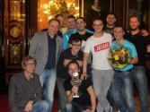 Siegerfoto startschussmasters mit dem Team Prag