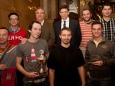 Siegerteam aus Prag mit Spies und Reinhardt