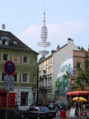 St. Pauli und Fernsehturm