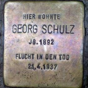 Stolperstein_Georg_Schulz