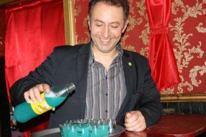 Farid Müller in der Wunderbar