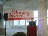 Grundsteinlegung für das neue Ohnesorg Theater